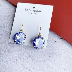 Kate Spade Shine On French Wire Earrings Purple